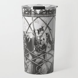 Skull Fence of New Orleans Travel Mug