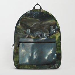 el greco toledo Backpack