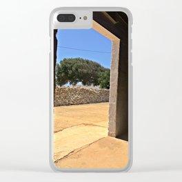 Ceramics Lab View Clear iPhone Case