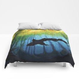 Kelp Forest II Comforters
