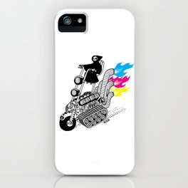Grim Hellraiser iPhone Case
