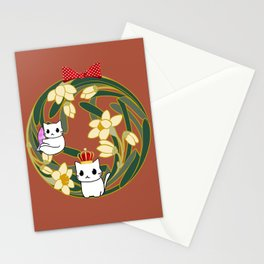 cats-84 Stationery Cards