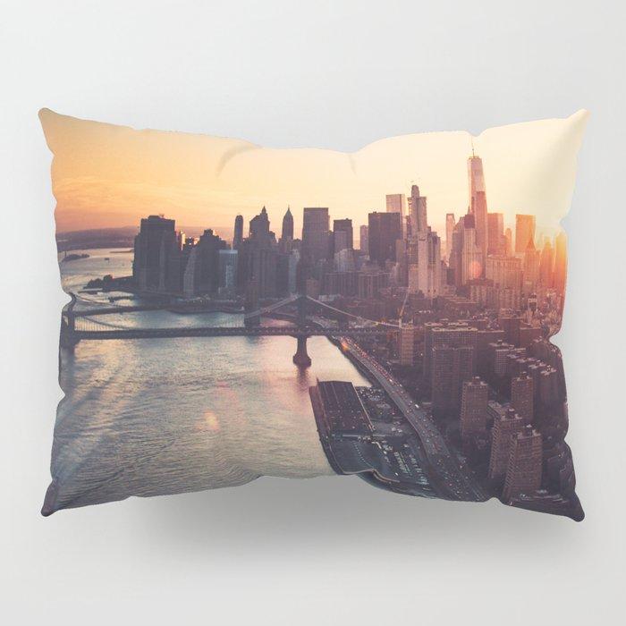 new york city skyline Pillow Sham