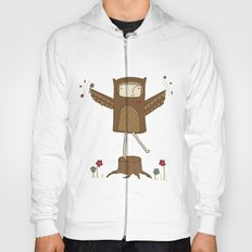 Little Owl Girl Hoody