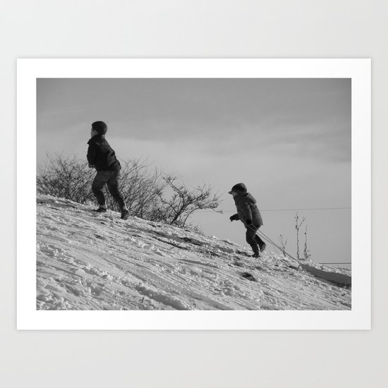 On the Hill II #8 Art Print