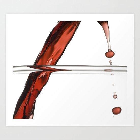 Decanting Wine Art Print