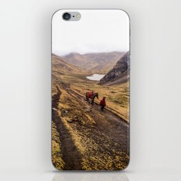 Boy and Horse in Peruvian Mountains iPhone Skin