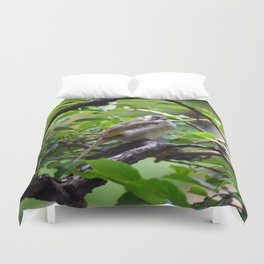 Bird in a Tree Duvet Cover