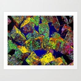 cuboid 155 Art Print