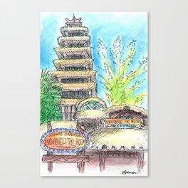 Enchanted Tiki Room Canvas Print
