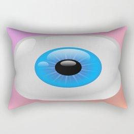 Creepy Cute Eyeball Rectangular Pillow