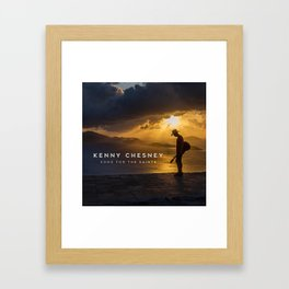 kenny chesney song for the saints album tour 2019 simukasama Framed Art Print
