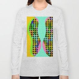 Modern Art - Yellow Long Sleeve T-shirt