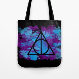 Splatter Hallows  Tote Bag