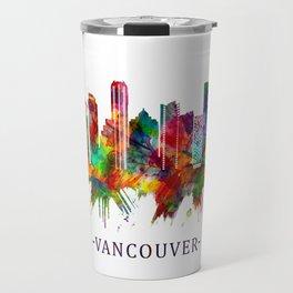 Vancouver Canada Skyline Travel Mug