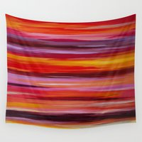 passion Wall Tapestries featuring Passion by Lindsey Kate