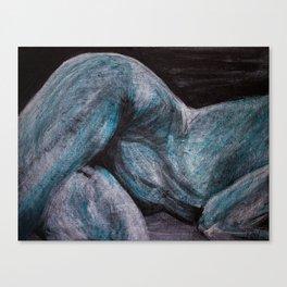 goodnight moonlight lady Canvas Print