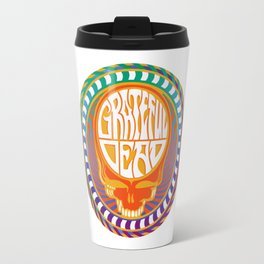 Psychedelic Stealing Head Travel Mug