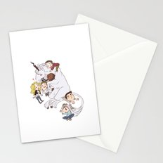 teens and wolves and unicorns Stationery Cards