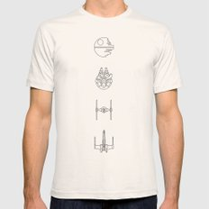 new hope MEDIUM Mens Fitted Tee Natural