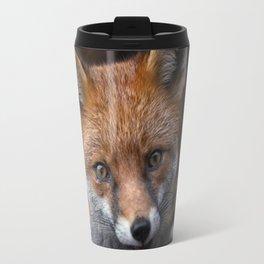 Wild Red Fox Looking At You Travel Mug