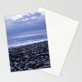 BLUE BEACH of SICILY Stationery Cards