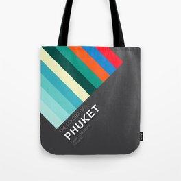 Colors of Phuket Tote Bag