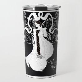 Virginia Woolf Art Nouveau Travel Mug