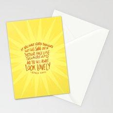 Roald Dahl on Positive Thinking Stationery Cards