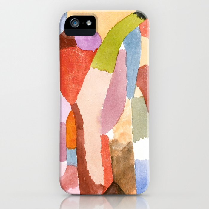 Movement of Vaulted Chambers by Paul Klee, 1915 iPhone Case