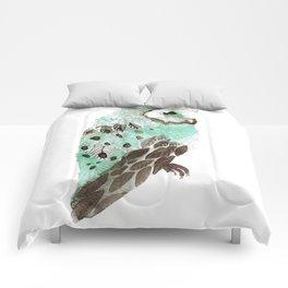 Watercolour Owl Comforters