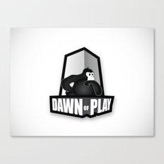 Dawn of Play Canvas Print