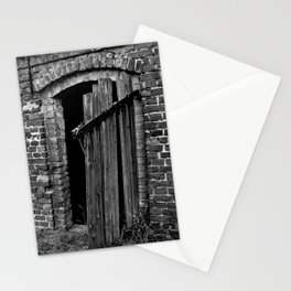 Old abandoned barn Stationery Cards