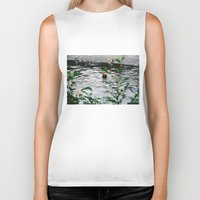 fishing Biker Tanks featuring Fishing by Tayloroo