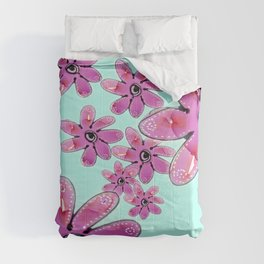 COTTON CANDY FLORAL Comforters