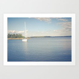 Morning on Chesapeake Bay Art Print