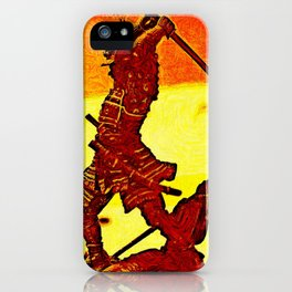 Ronin Red iPhone Case