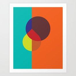 Cacho Shapes LXXXVI Art Print