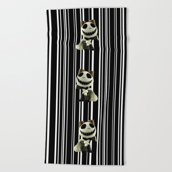 Halloween Prisoner | Jack | Christmas | Nigthmare Beach Towel