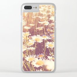 flowers. daisy photograph, We Need Each Other Clear iPhone Case