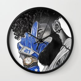 Feed Zeke Wall Clock