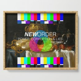 Power, Corruption & Lies Serving Tray