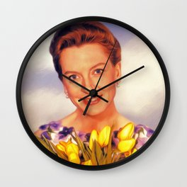Deborah Kerr, Hollywood Legend Wall Clock