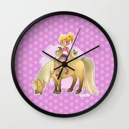 I'm a horse addict Wall Clock