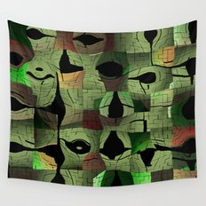 The puzzle Wall Tapestry