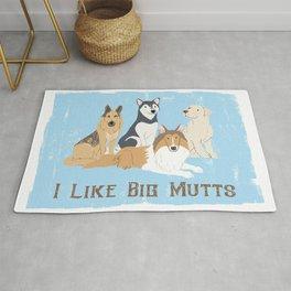 I Like Big Mutts Rug