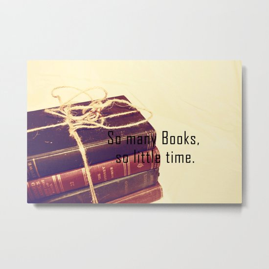 So many Books Metal Print