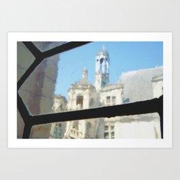 Chambord castle (2) Art Print