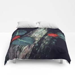 Exotic, Mysterious Cotoneaster Flowering Plant Comforters