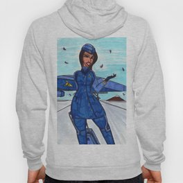Flight to Winter Wonderland Hoody